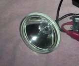 Round Enclosure with 35W Low Cost HID Lamp